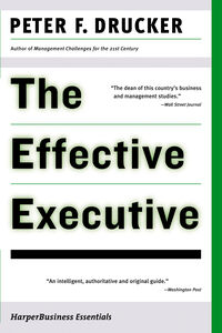 Foto Cover di The Effective Executive, Ebook inglese di Peter F. Drucker, edito da HarperCollins