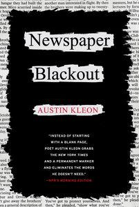 Foto Cover di Newspaper Blackout, Ebook inglese di Austin Kleon, edito da HarperCollins