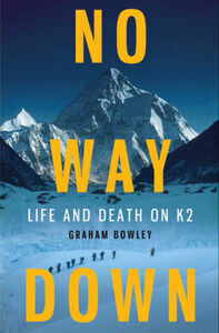 Foto Cover di No Way Down, Ebook inglese di Graham Bowley, edito da HarperCollins