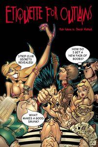 Foto Cover di Etiquette for Outlaws, Ebook inglese di Rob Cohen,David Wollock, edito da HarperCollins