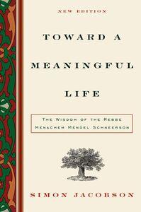 Foto Cover di Toward a Meaningful Life, New Edition, Ebook inglese di Simon Jacobson, edito da HarperCollins