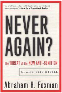 Foto Cover di Never Again?, Ebook inglese di Abraham Foxman, edito da HarperCollins