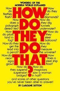 Foto Cover di How Do They Do That?, Ebook inglese di Caroline Sutton, edito da HarperCollins