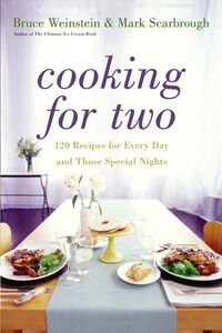 Foto Cover di Cooking for Two, Ebook inglese di Mark Scarbrough,Bruce Weinstein, edito da HarperCollins