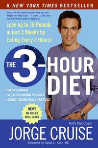 Foto Cover di The 3-Hour Diet, Ebook inglese di Jorge Cruise, edito da HarperCollins