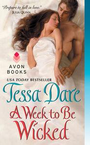 Foto Cover di A Week to Be Wicked, Ebook inglese di Tessa Dare, edito da HarperCollins