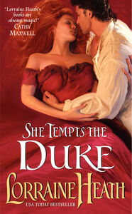 Foto Cover di She Tempts the Duke, Ebook inglese di Lorraine Heath, edito da HarperCollins