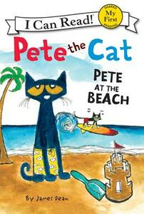 Pete the Cat: Pete at the Beach - James Dean - cover
