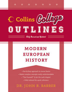 Foto Cover di Modern European History, Ebook inglese di John R. Barber, edito da HarperCollins