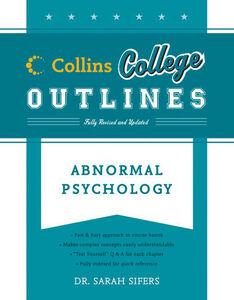 Foto Cover di Abnormal Psychology, Ebook inglese di Sarah Sifers, edito da HarperCollins