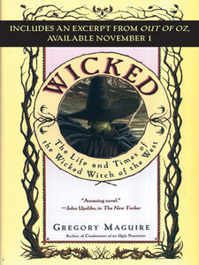 Ebook in inglese Wicked with Bonus Material Maguire, Gregory