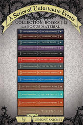 A Series of Unfortunate Events Collection: Books 1-13 with Bonus Material