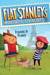Foto Cover di Flat Stanley's Worldwide Adventures #11: Framed in France, Ebook inglese di Jeff Brown, edito da HarperCollins