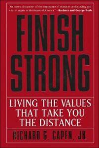 Foto Cover di Finish Strong, Ebook inglese di Richard G. Capen, edito da HarperCollins