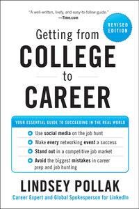Foto Cover di Getting from College to Career, Ebook inglese di Lindsey Pollak, edito da HarperCollins