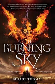 Burning Sky, the - Sherry Thomas - cover