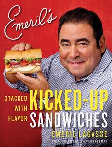 Foto Cover di Emeril's Kicked-Up Sandwiches, Ebook inglese di Emeril Lagasse, edito da HarperCollins