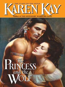 Foto Cover di The Princess and the Wolf, Ebook inglese di Karen Kay, edito da HarperCollins