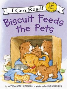 Ebook in inglese Biscuit Feeds the Pets Capucilli, Alyssa Satin