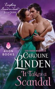 Ebook in inglese It Takes a Scandal Linden, Caroline