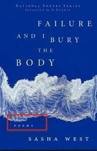Failure and I Bury the Body - Sasha West - cover
