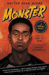 Monster: A Graphic Novel - Walter Dean Myers - cover