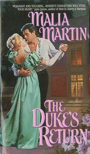 Foto Cover di Duke's Return, Ebook inglese di Malia Martin, edito da HarperCollins