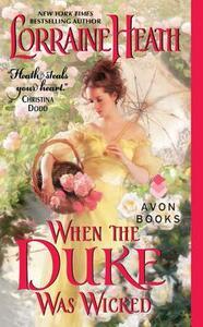 When the Duke Was Wicked - Lorraine Heath - cover