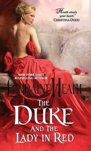 The Duke and the Lady in Red - Lorraine Heath - cover