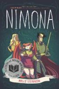 Nimona - Noelle Stevenson - cover