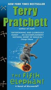 The Fifth Elephant - Terry Pratchett - cover