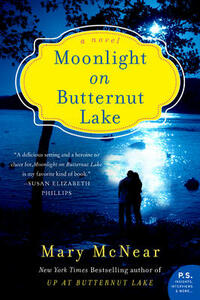 Moonlight on Butternut Lake: A Novel - Mary McNear - cover