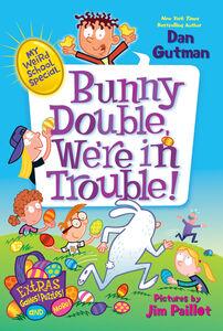 Foto Cover di Bunny Double, We're in Trouble!, Ebook inglese di Dan Gutman,Jim Paillot, edito da HarperCollins