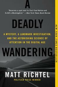 A Deadly Wandering: A Mystery, a Landmark Investigation, and the Astonishing Science of Attention in the Digital Age - Matt Richtel - cover