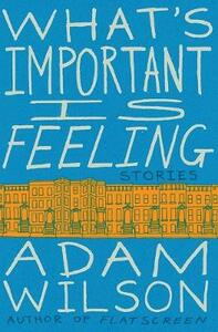 What's Important Is Feeling: Stories - Adam Wilson - cover