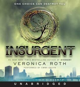 Insurgent CD - Veronica Roth - cover