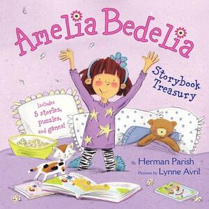 Amelia Bedelia Storybook Treasury: Amelia Bedelia's First Day of School; Amelia Bedelia's First Field Trip; Amelia Bedelia Makes a Friend; Amelia Bedelia Sleeps Over; Amelia Bedelia Hits the Trail - Herman Parish - cover