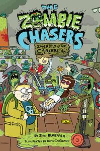 Foto Cover di Zombie Chasers #6: Zombies of the Caribbean, Ebook inglese di John Kloepfer, edito da HarperCollins