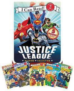 Justice League Reading Collection: 5 I Can Read Books Inside! - Various - cover