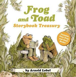 Frog and Toad Storybook Treasury: 4 Complete Stories in 1 Volume! - Arnold Lobel - cover