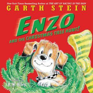 Enzo and the Christmas Tree Hunt! - Garth Stein - cover