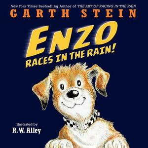 Enzo Races in the Rain! - Garth Stein - cover