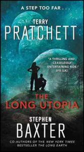 The Long Utopia - Terry Pratchett,Stephen Baxter - cover