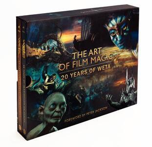 The Art of Film Magic: 20 Years of Weta - cover