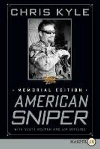 American Sniper: Memorial Edition (Large Print) - Chris Kyle,Scott McEwen - cover