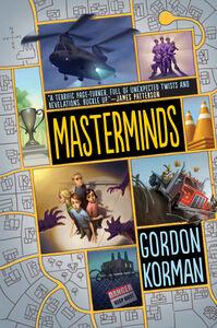 Foto Cover di Masterminds, Ebook inglese di Gordon Korman, edito da HarperCollins