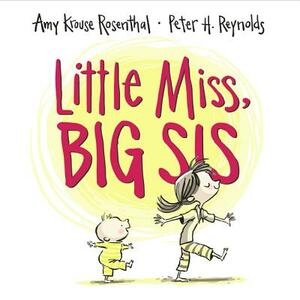 Little Miss, Big Sis - Amy Krouse Rosenthal - cover