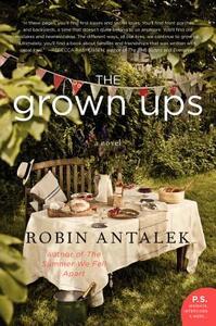 The Grown Ups: A Novel - Robin Antalek - cover