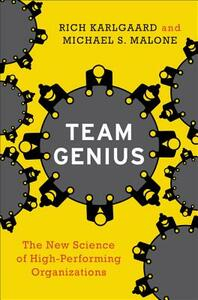 Team Genius: The New Science of High-Performing Organizations - Rich Karlgaard,Michael S. Malone - cover