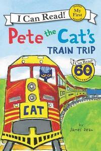 Pete The Cat's Train Trip - James Dean - cover